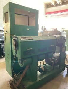 """2"""" Sterling Plastic Extruder 24:1 Rebuild 30HP New Electronics, Controls, Wiring"""