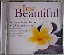 JUST BEAUTIFUL - Julian Leaper/Anne Dudley - CD Album - Brand NEW/SEALED
