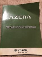 2007 Hyundai Azera Electrical Wiring Diagram Manual SE GLS Limited 3.3L 3.8L V6