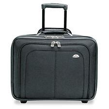 Samsonite Mobile Office Rolling Notebook Case Nylon 17 1/2 x 9 x 14 Black