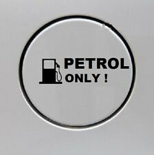 Indiashopers Petrol Only Windows, Sides, Hood, Bumper Car Sticker