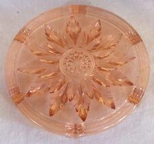 dessous de plat verre rose art déco Vercapel