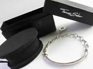 THOMAS SABO Armband LOVE BRIDGE 925 Sterlingsilber 19 cm