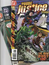 DC Young Justice HUGE 20 bk lot Superboy Impulse Robin S1 3 4 5 7 8 9 10 11 list