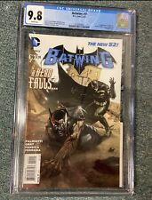 Batwing #19 - CGC 9.8 White Pages - 1st Luke Fox Appearance
