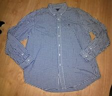 Men's Check camicia Ralph Lauren. Taglia XL
