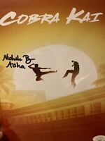 "Nichole Brown Autograph Signed 8x10 Photo - Cobra Kai ""Aisha"" (JSA COA)"