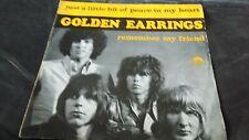 45T GOLDEN EARRINGS---JUST A LITTLE BIT OF PEACE IN MY HEART---