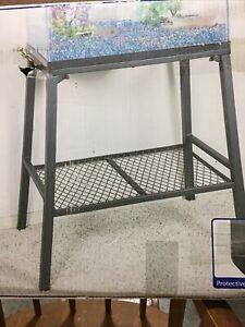 New Aqua Culture 10-20 Gallon Steel Aquarium Stand Strong Durability stand