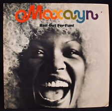 MAXAYN-Bail Out For Fun! Very Rare 1974 Soul & Funk Album-CAPRICORN #CP 0125