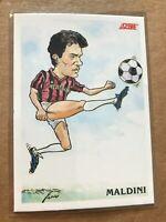 1992 SCORE Italian Soccer Paolo Maldini Supersquadra #352