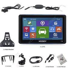 "XGODY 7"" GPS Navigation Bluetooth + Wireless Reversing Camera LED Night vision"
