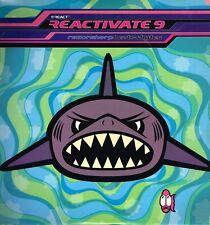"LP 12"" 30cms: Reactive 9: razor sharp beats + bytes. react 2  lps. 4."