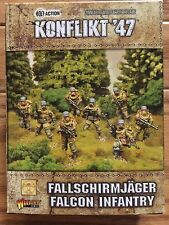 Bolt Action Konflikt '47: German Fallschirmjager Falcon Infantry