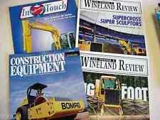 Bomag, Kobelco, John Deere Assorted Brochures                                 b2