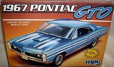 mpc 1/25 1967 PONTIAC GTO HARDTOP STOCK STREET MACHINE