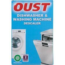 OUST DISHWASHER & WASHING MACHINE LIMESCALE DESCALER CLEANER 2 SACHET PK 2044560