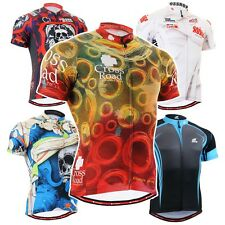 FIXGEAR CS Short Series Cycling Jersey Road Mountain Bike Shirts MTB Bicycle