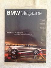 New/Sealed BMW Magazine 1/2008~The All-New BMW 1 Series~Free U.S. Shipping!