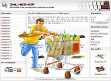 PROFI ONLINESHOP SYSTEM - in DEUTSCH, für alle Branchen geeignet