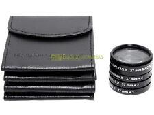 37mm. kit 4 aggiuntivi +1 +2 +4 diottrie e Macro Blackdove-cameras con custodie