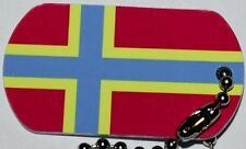 Orkney Flag Tag - Trackable For Geocaching (Travel Bug Geocoin)
