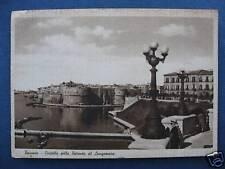 taranto italy post card castella della rotonda vintage