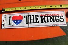 Sacramento KINGS NBA Basketball California 80's SN Vintage Sports Bumper STICKER