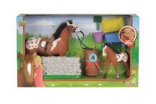 Simba Pferde Puppen Champ. Beauty Parcours Set  Neu !