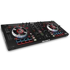 Numark 4 deck DJ controller Serato DJ Intro with Mixtrack Platinum EMS Tracking