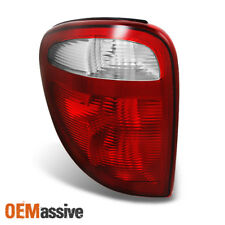 01-03 Caravan Voyager Town & Country Red Clear Driver Left Taillight Brake Lamp