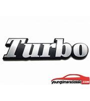 Monogramme TURBO pour RENAULT 5 ALPINE -R9 - R11 -R18