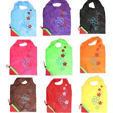 1 X Einkaufstasche Faltbare Erdbeere Einkaufsbeutel Tragetasche Shopper Tasche^