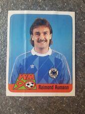 Ferrero Duplo Sammelbild Raimond Aumann DFB GER Fußball WM 90 Nr. 2 Rarität!