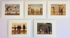 """""""la selezione EROTICO"""" by Jack Vettriano Set di 5 MONTATO ARTE STAMPE 10 """"x 8"""""""