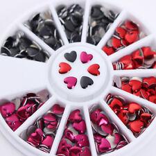 Chameleon Crystal Nail Art Rhinestones Irregular Stones Flower Manicure Tips DIY