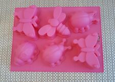 Novelty Silicone Cake Moulds Train Dinosaur Ginger Bread Man Butterflies