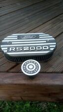 Ford Escort RS2000 ally k&n filter top and oil cap, new