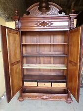 Chateau Armoire Louis XIII Style C1880 (HS146)