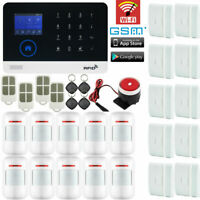C05 WiFi IP APP GSM RFID Wireless Home Security Alarm Burglar System Auto Dialer