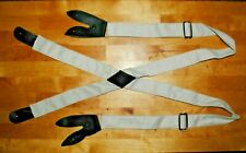 Canvas Suspenders Adjustable - Union or Csa - Civil War