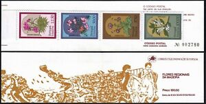Portugal Madeira 90-93a, Booklet, MNH. Local flora. Flowers, 1983