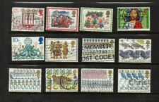 GB 12  Stamps Celebrate 12 days of Christmas ( some of them ) GB108
