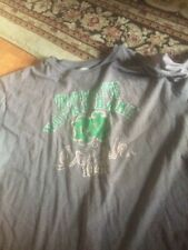 Notre Dame Fighting Irish Mens 2XL Vintage style Gray Tee