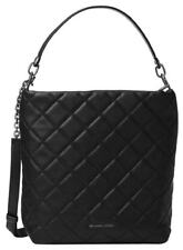 Michael Kors Loni LG Quilted Shoulder Bucket Bag w Free Contrast Charm $378