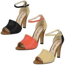 39 Sandali e scarpe spillo nero per il mare da donna