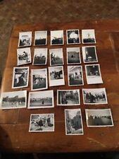 VOYAGE AU MAROC EN 1940 / LOT DE 22 Photos Ancienne Légendées au Dos