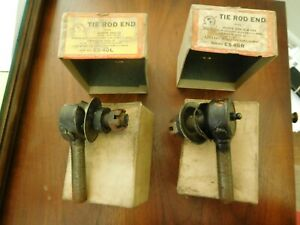 Buick Tie Rod Ends 1934 35 36 1940 Nash Graham Lafayette Right Left Pair NORS