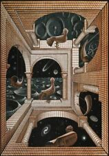 Escher # 37 cm 35x50 Poster Stampa Grafica Printing Digital Fine Art papiarte