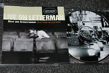 LIVE ON LETTERMAN * (MUSIC FROM THE LATE SHOW) * CD ALBUM